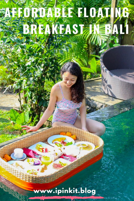Affordable Floating Breakfast in Bali