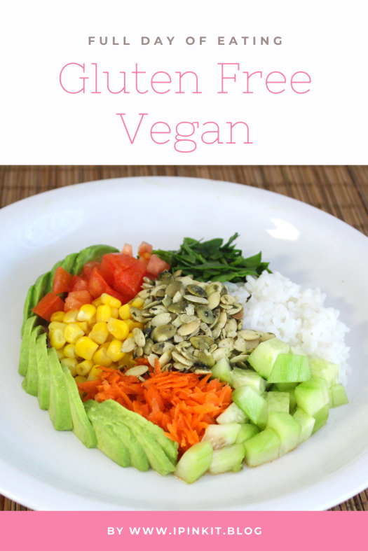 Full day of eating gluten free vegan meal ideas