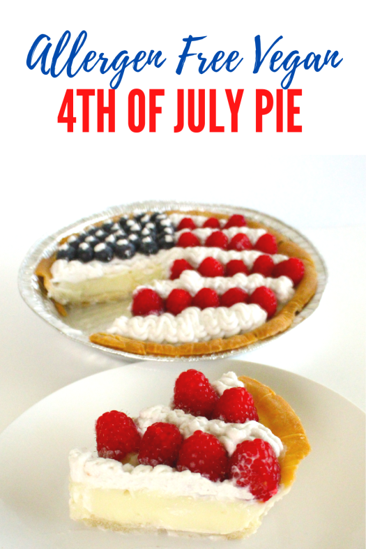 Gluten Free Vegan 4th of July Pie